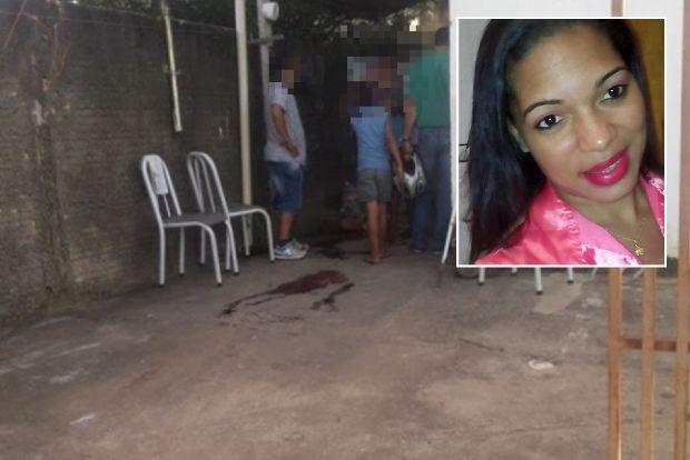 Mãe de duas meninas é executada com seis facadas no pescoço