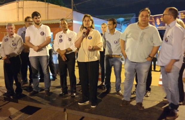 Lucimar Campos apoia reeleição de Gilmar Fabris