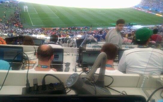 Organização falha e deixa mais de 2,5 mil jornalistas sem internet na final da Copa 2014