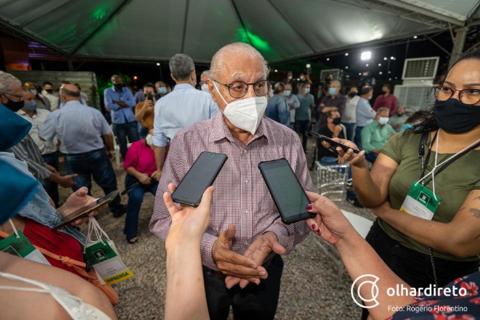 Júlio Campos diz que ficou surpreso com Cidinho no PSL e nega compromisso para vice: 'nem governador se decidiu ainda'