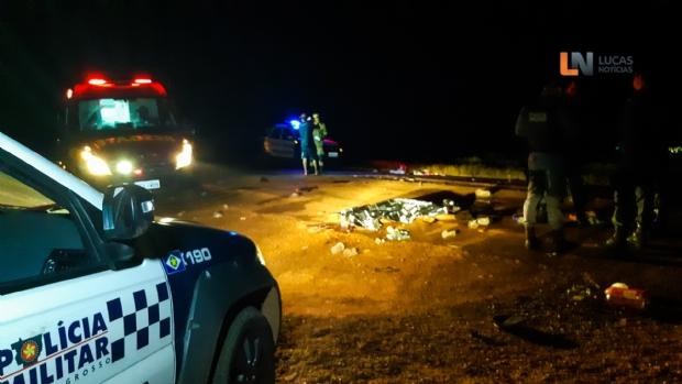 Caminhão atropela quatro adolescentes e mata garota de 14 anos em estrada