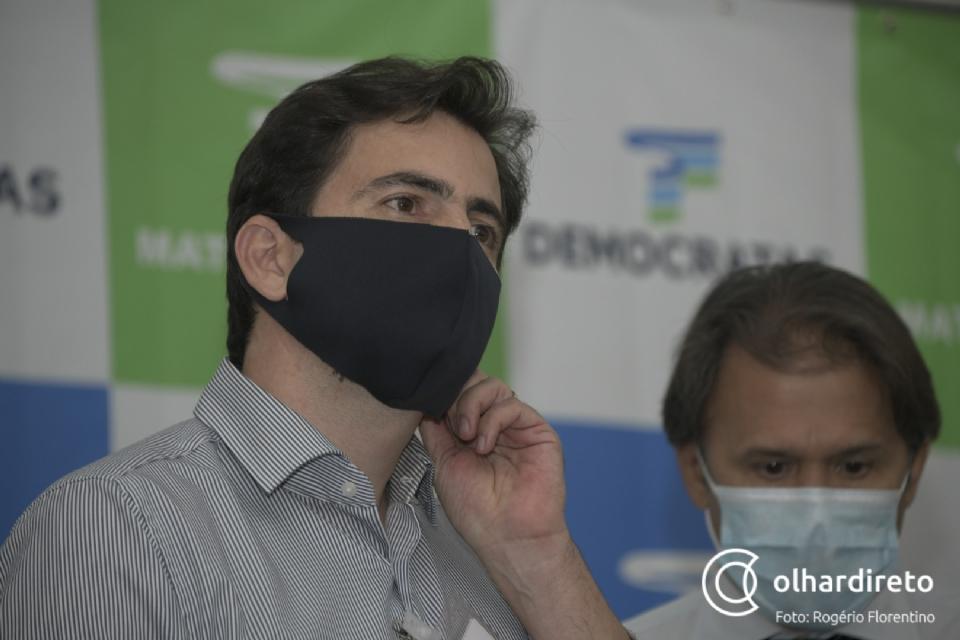 Fábio Garcia diz que nome de Cidinho a vice é 'só especulação' e governador não discute eleições neste momento
