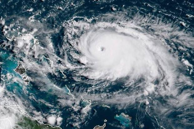 Nos EUA, influencer de MT relata tensão e preparativos para chegada do furacão Dorian;  fotos e vídeos