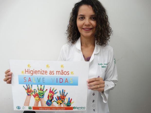 Infectologista alerta sobre a importância da higienização das mãos
