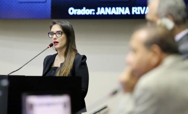 Para Janaína, fraca atuação de Pedro Taques fez com que ela fosse mais votada em eleição