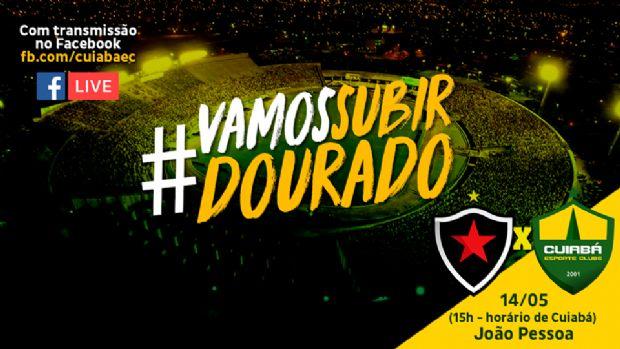 Cuiabá estreia na série C e anuncia transmissão de jogos pelo Facebook