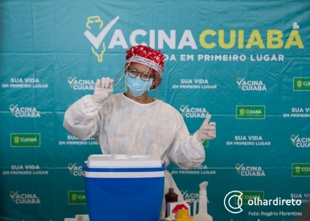Cuiabá vai iniciar vacinação de moradores de rua e de pessoas com comorbidades