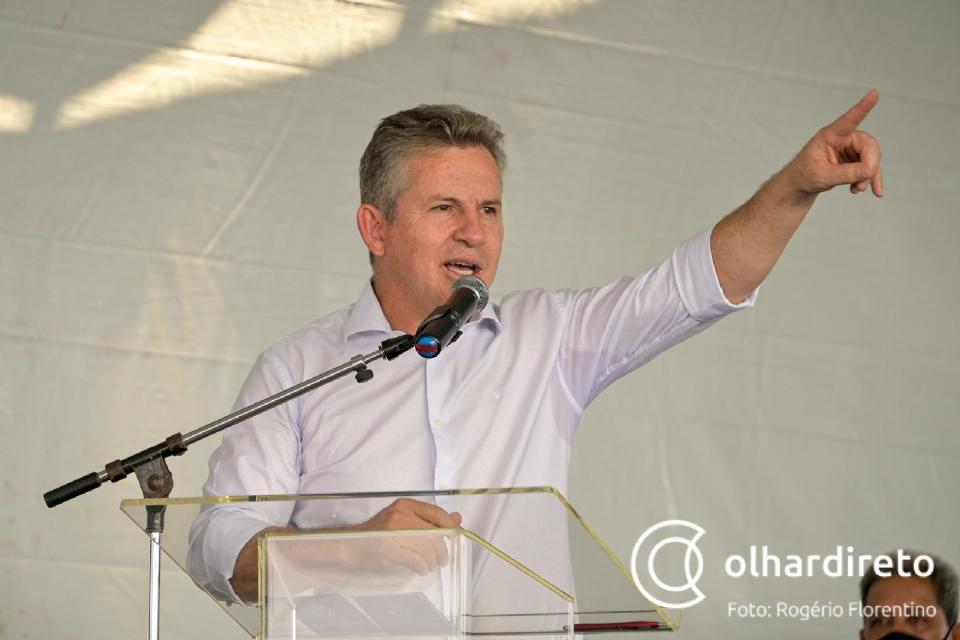Em discurso a produtores, Mauro destaca 50% do Fethab revertido em obras de infraestrutura
