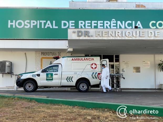 Cuiabá só tem 12 leitos disponíveis no Hospital de Referência; São Benedito lotado