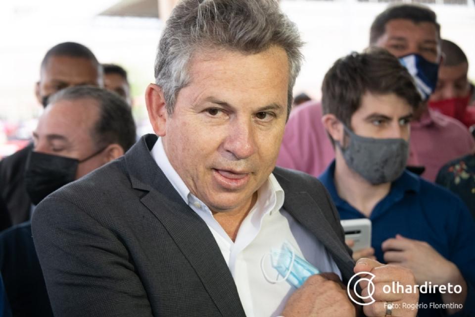 Mauro quer barrar envio de doses a municípios com baixa imunização contra a Covid-19; Cuiabá tem 34 mil paradas