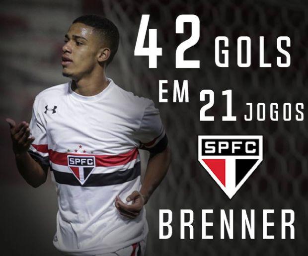Cuiabano, Brenner faz dois gols, dá passe pra um e comanda título do SP contra o Flamengo