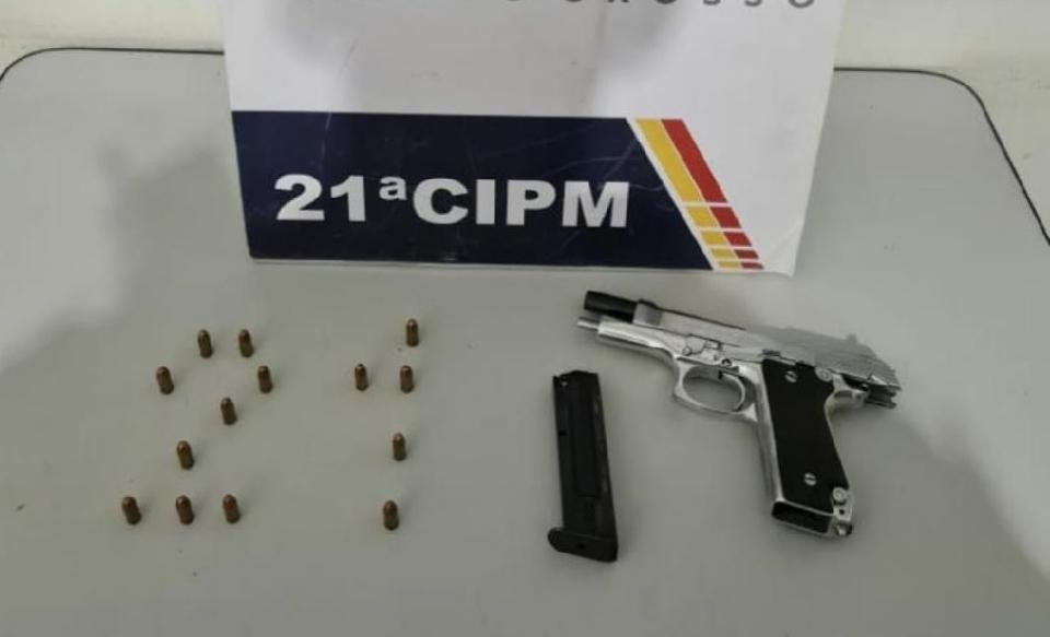 Jovem é preso com pistola dentro de caminhonete após brigar em boate no Centro de Cuiabá