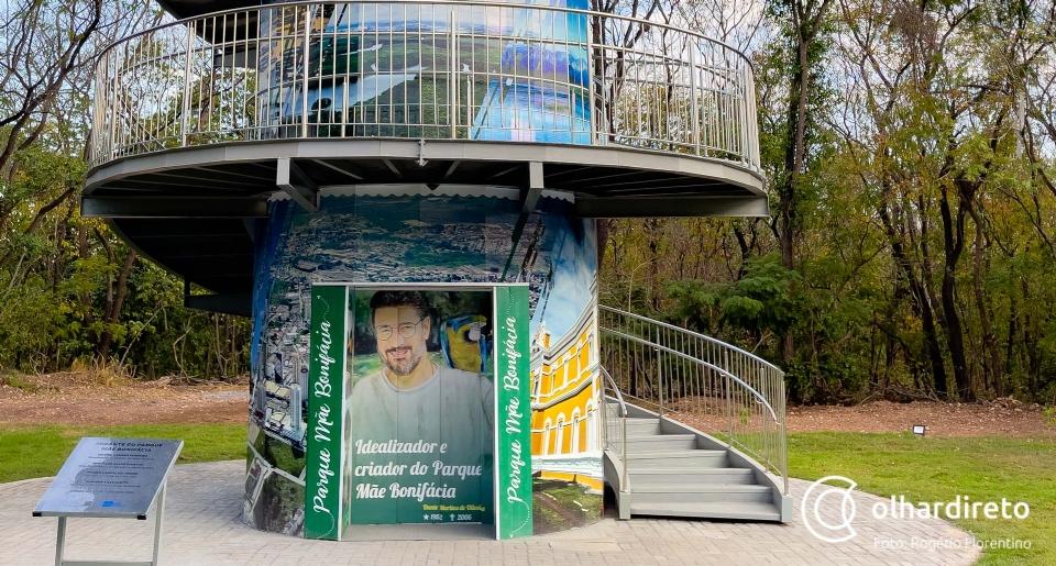 Após sete dias de inauguração, elevador do mirante do Parque Mãe Bonifácia segue desligado