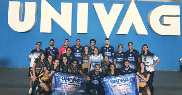 Aluno do Univag disputam Jogos Universitários Brasileiros em Goiânia