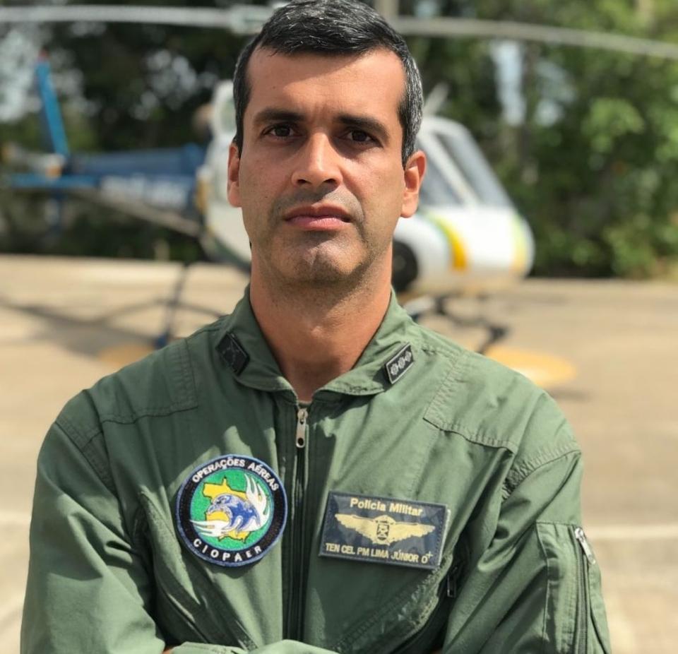 Tenente-coronel Ernesto Xavier de Lima Junior.