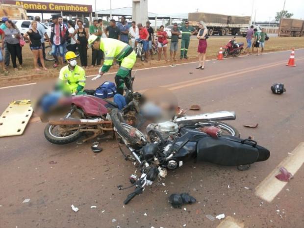 Mulher morre e outras duas pessoas são socorridas em estado grave após acidente;  fotos