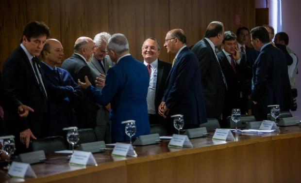 Temer se reúne com governadores e oferece empréstimo de R$ 42 bilhões para segurança pública