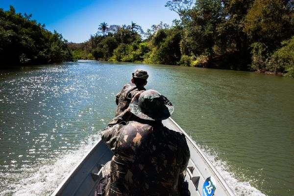 MT fecha período de fiscalização com  60% a mais de pescado apreendido