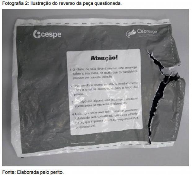 Perícia confirma violação de envelopes do concurso para delegado; criminosos tentaram colar lacre