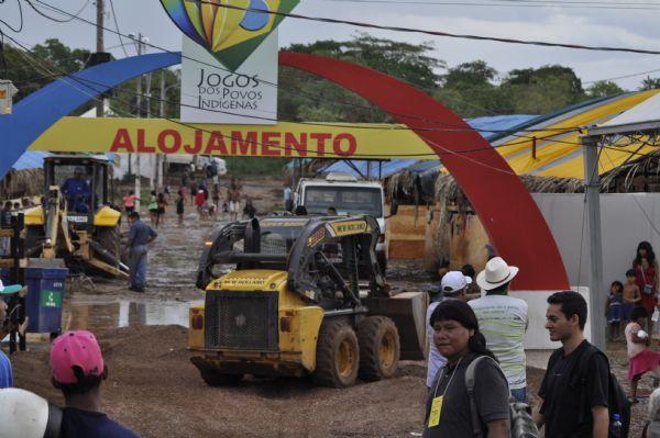 Com falta de água e infraestrutura, indígenas dizem que jogos em Cuiabá são os piores da história