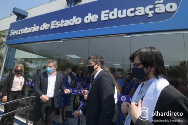 Governo confirma investimento de R$ 550 milhões na educação de Mato Grosso