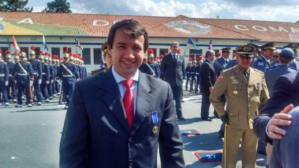 Novacki recebe homenagem da Polícia Militar por atuação em Ministério