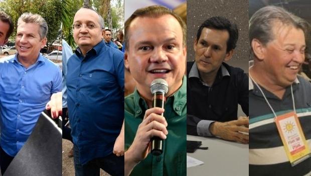 Mato Grosso terá cinco candidatos na disputa pelo Governo; saiba quem são e entenda as articulações