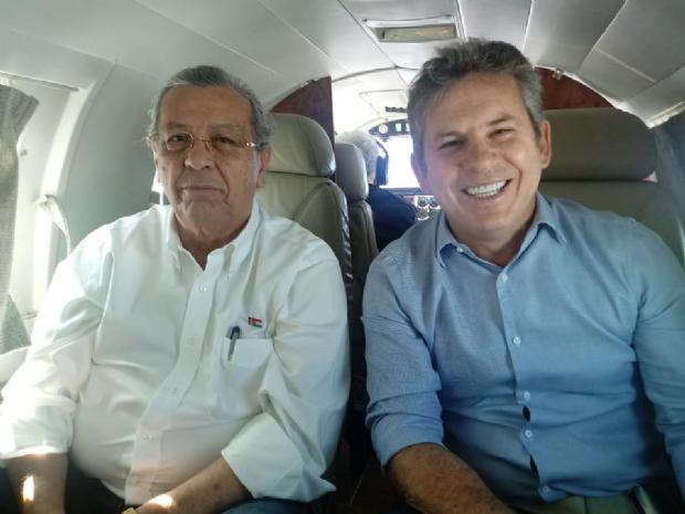 Mauro Mendes e Jayme Campos se lançarão ao governo e senado respectivamente