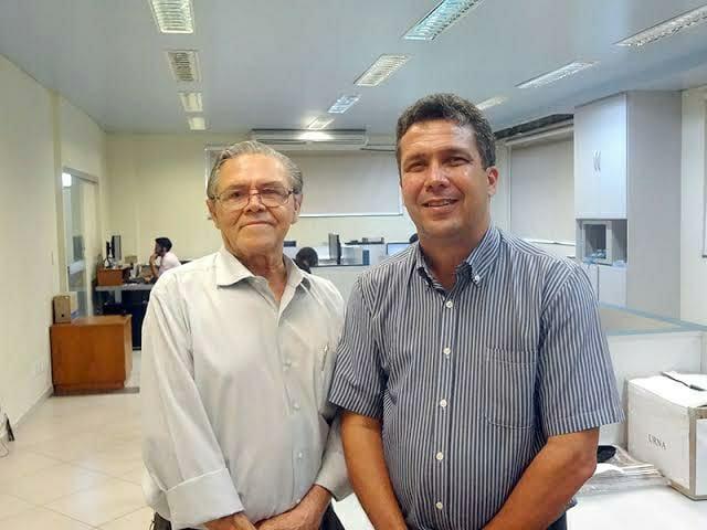 Pastor José Genésio (esq.) e Pastor Ildo Rodrigues