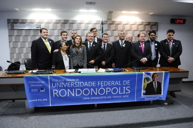 Criação da Universidade Federal em Rondonópolis é aprovada no Senado