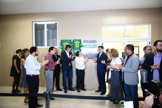 Emanuel inaugura novo Hospital Municipal e defende diálogo com Mauro Mendes por verba de R$ 82 mi