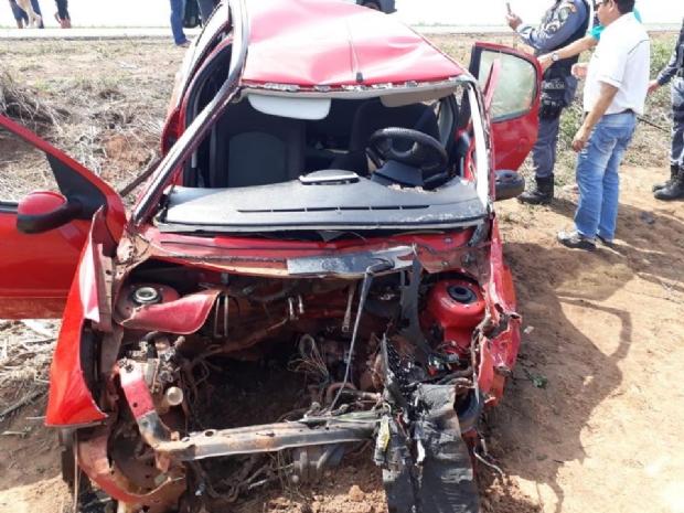 Pai de vice-prefeito morre em acidente entre dois veículos;  Veja vídeo!