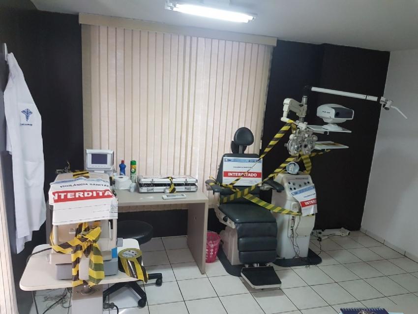 726a704aa680c Dois consultórios dentro de óticas são interditados pela Polícia ...