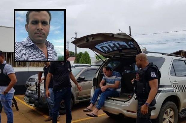 Suspeito de matar amante da esposa a tiros é preso pela polícia