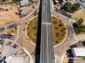 Viaduto Murilo Domingos, na avenida Beira Rio, em Cuiabá