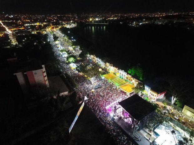 Réveillon leva cerca de 80 mil pessoas à Orla do Porto para celebrar a chegada de 2018