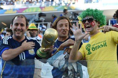 Brasileiros aproveitam a final para secar a Argentina na final da Copa