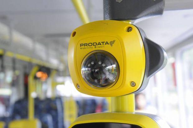 Biometria facial já funciona em Cuiabá para acabar com fraudes; até fim do ano em 100% da frota