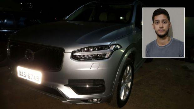 Jogador do Luverdense é preso em Cuiabá acusado de receptação de veículo Volvo