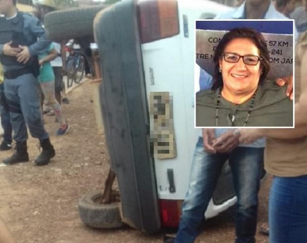 Vice-prefeita morre após ser atropelada na porta de casa