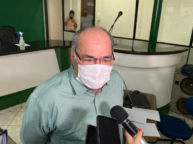 Juarez Samaniego defende discussão com a sociedade civil organizada sobre mudança de modal