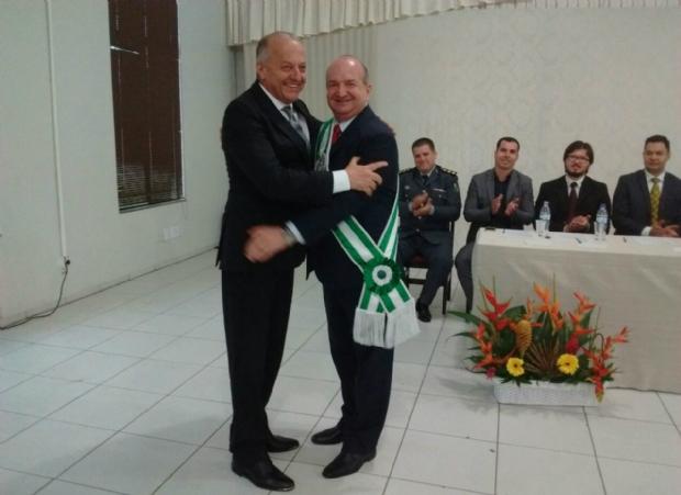 Pivetta e prefeito de Lucas do Rio Verde