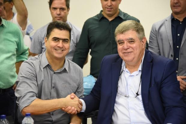 Emanuel Pinheiro e ministro Carlos Marun