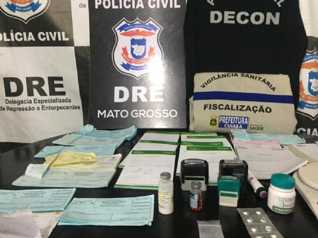 Homem é preso acusado de vender medicamentos controlados e anabolizantes