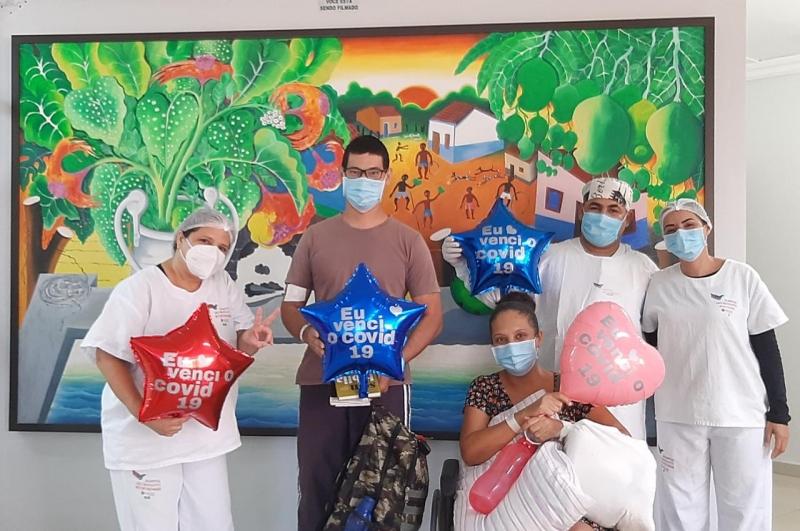 Hospital São Benedito registra 68 altas no mês de maio e pacientes comemoram