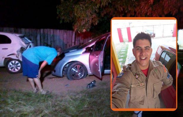 Soldado do Corpo de Bombeiros morre com tiro na cabeça enquanto dirigia