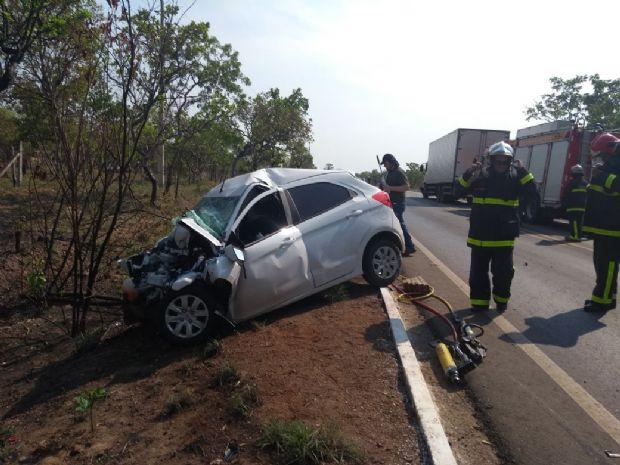 Homem morre após colidir contra caminhão na MT-251; motorista alega ultrapassagem  veja fotos