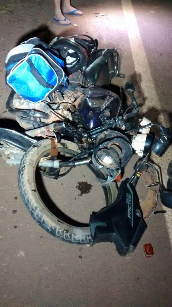 Colisão entre motos deixa dois mortos na rodovia MT-140