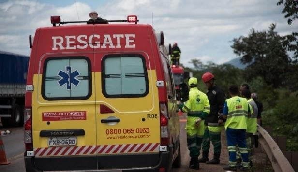 Motorista de caminhão morre em hospital após colisão na BR-163