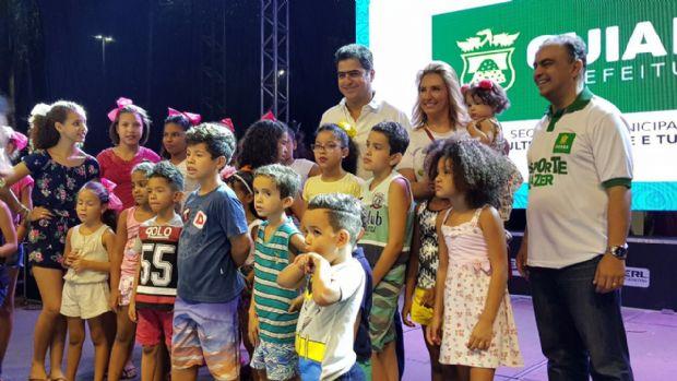 Emanuel Pinheiro no palco